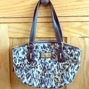 Like New!  Coach Animal Print Bag!
